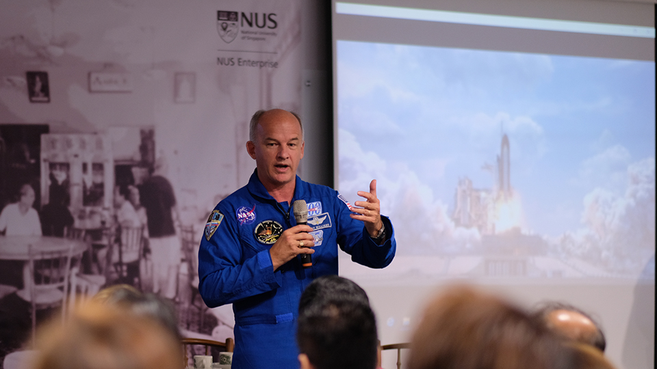 Start-ups, Outer Space and you
